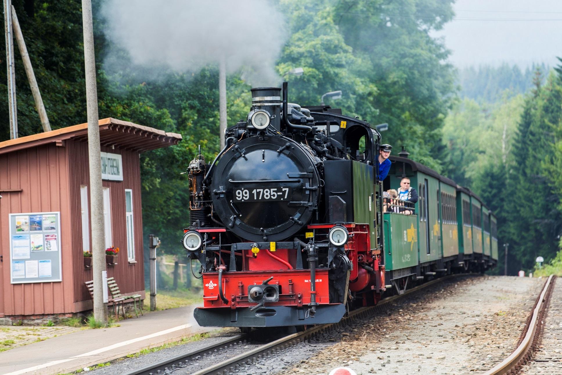 Fichtelbergbahn von Cranzahl