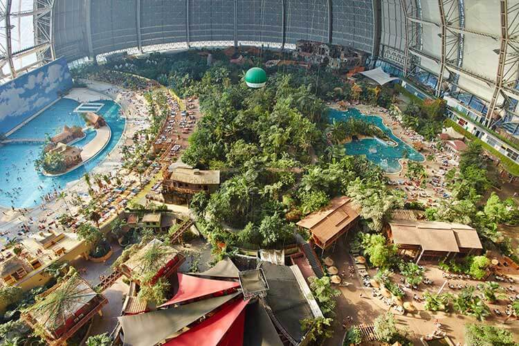 Erlebnisbad bei Berlin – Tropical Islands