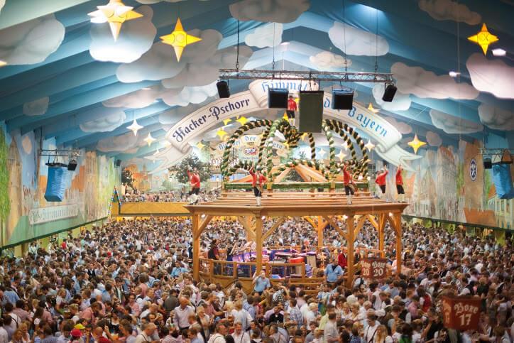 Hacker-Pschorr-Festzelt Oktoberfest