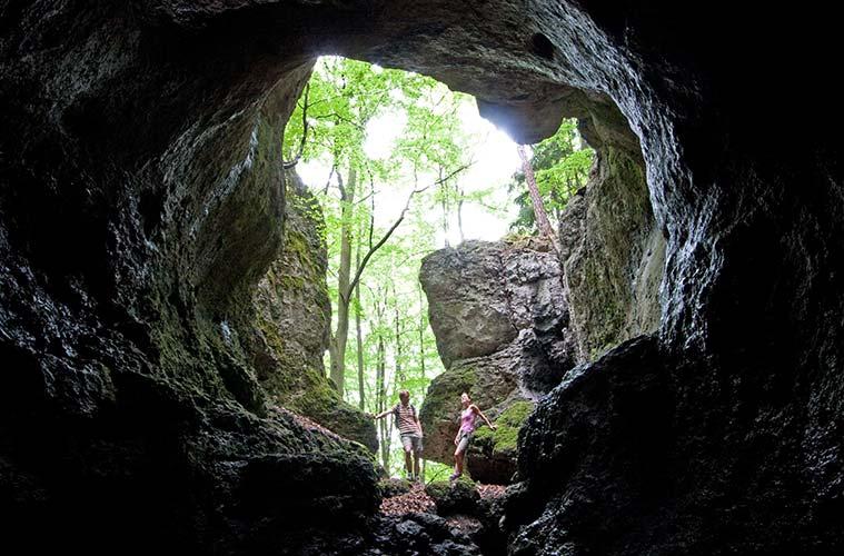 Höhlenwanderung im Hirschbachtal © Foto: Stefan Gruber