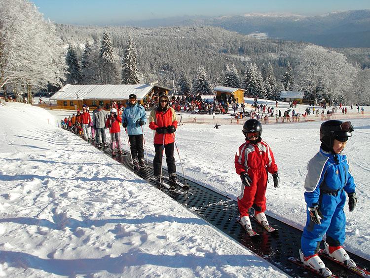 Skischule für Kinder am Arber im Bayerischen Wald