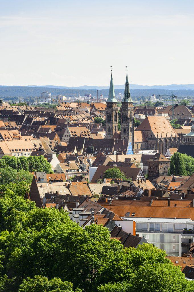 Franken: Die Altstadt von Nürnberg