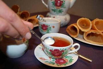 """Am Neujahrstag werden süße """"Rullerkes"""" zum Tee gereicht"""