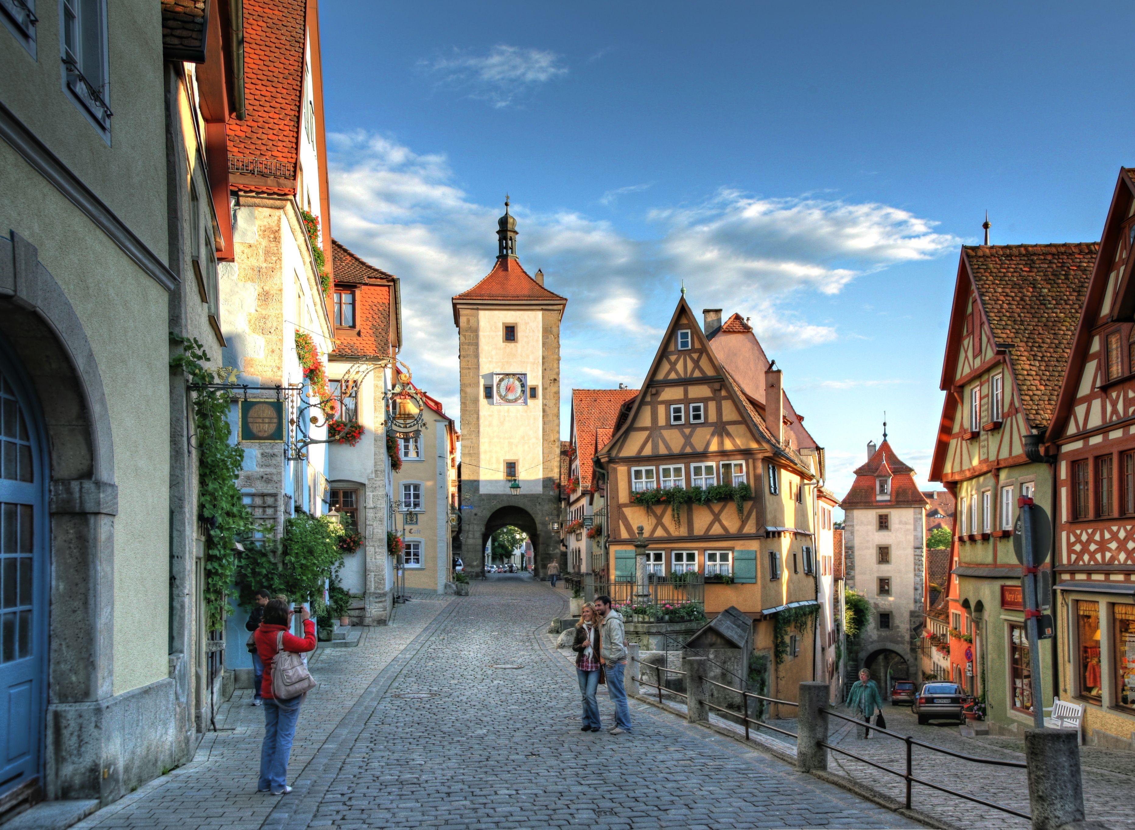 Mittelalterstadt Rothenburg ob der Tauber