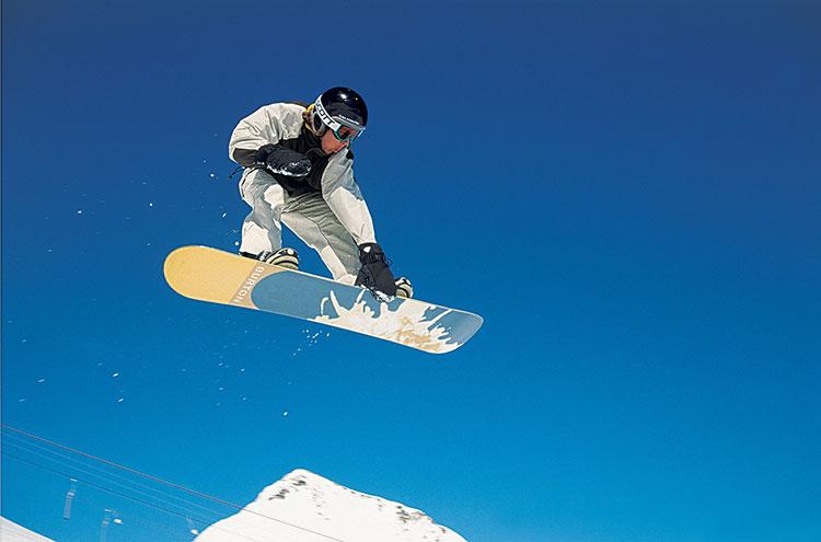 Snowboarder Paradies für Anfänger und Könner Bayerischer Wald