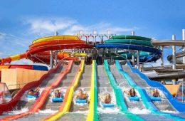Sommerrutsche Erlebnisbad Therme Erding