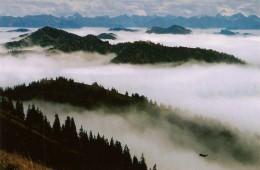 Wanderungen am Hochgrat zwischen Grünten und Bodensee bieten einzigartige Ausblicke auf das Allgäu