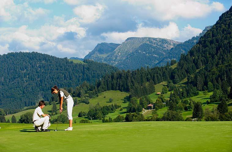 Golfspielen ohne Greenfee