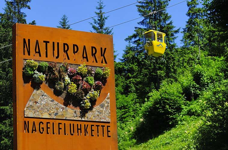 Oberstaufen hat von allen Gemeinden den größten Anteil am Naturpark Nagelfluhkette.