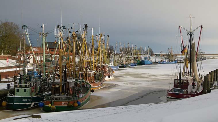 Winter in Ostfriesland. Foto: ® www.ostfriesland.de