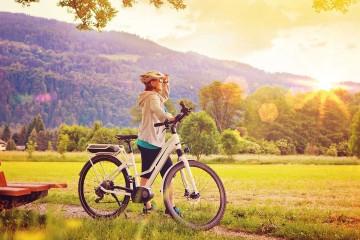 Herrliche Aussichten beim Radwandern genießen