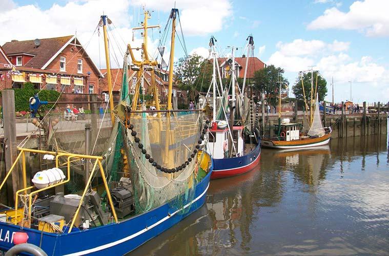 Hafen Neuharlingersiel. Foto: ® www.ostfriesland.de