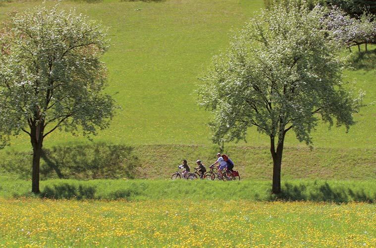 Freiheit auf zwei Rädern © Foto: Tourist-Information Passauer Land