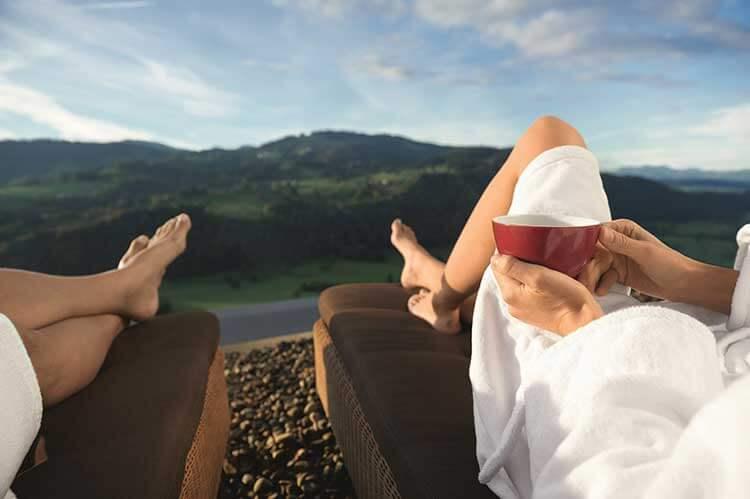 Allgäu: Alpen Wellness mit traumhaftem Ausblick