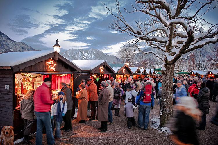 Winterstimmung beim Weihnachtsmarkt
