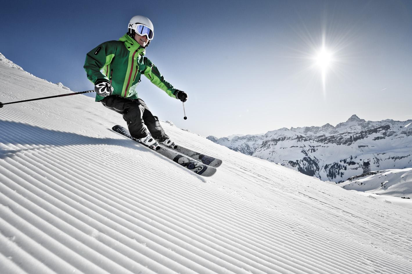 Skifahren im Allgäu auf bestens präparierten Pisten